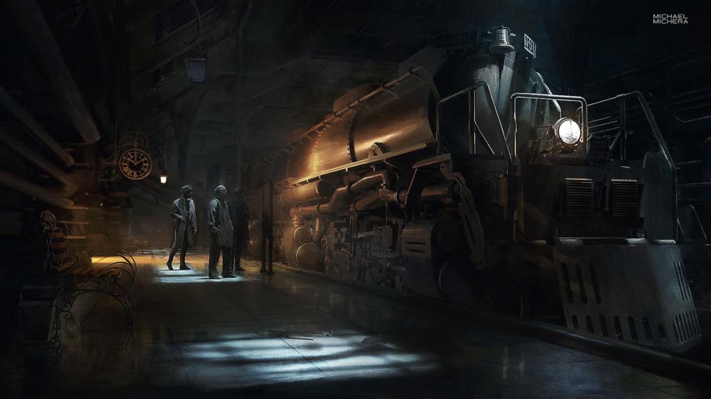 """""""Railway Station"""" by Michael Michera"""